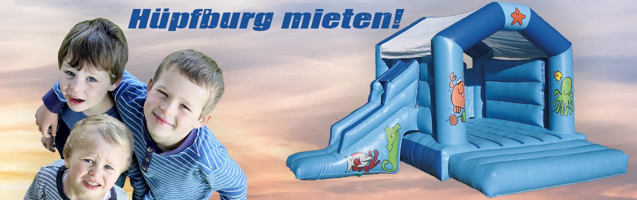 Banner Hüpfburg mieten