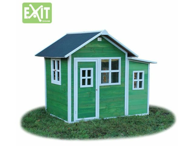 holz spielhaus exit loft 150 gr n 499 00. Black Bedroom Furniture Sets. Home Design Ideas