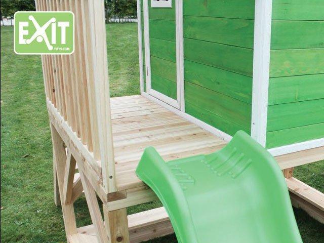 holz spielhaus exit loft 500 gr n 799 00. Black Bedroom Furniture Sets. Home Design Ideas