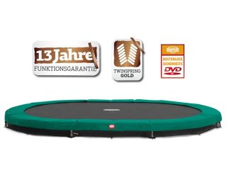 Berg Inground Grand Champion grün 515 x 365 oval