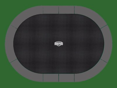 Berg Inground Grand Favorit grau 520 x 350 oval