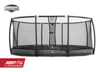 Berg Inground Grand Champion schwarz 520 x 350 oval mit...
